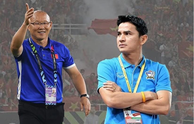 HLV Kiatisak lo ngại đội nhà bị Việt Nam và Malaysia vượt mặt