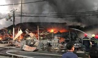 Chủ đầu tư tố 298 ki ốt bị thiêu ở chợ Còng bị kẻ gian phóng hỏa