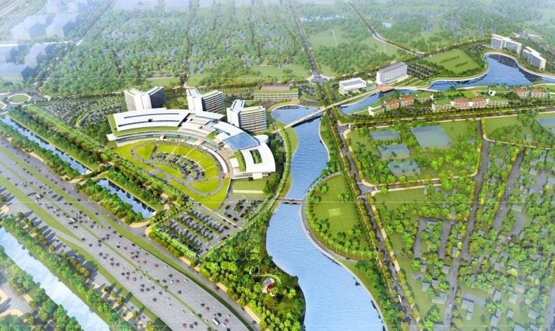 Động thổ dự án tổ hợp Y tế & chăm sóc sức khỏe công nghệ cao đầu tiên