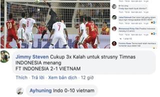 CĐV Indonesia dự đoán sốc về tỷ số trận gặp Việt Nam