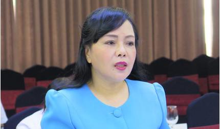 Miễn nhiệm chức Bộ trưởng Bộ Y tế đối với bà Nguyễn Thị Kim Tiến