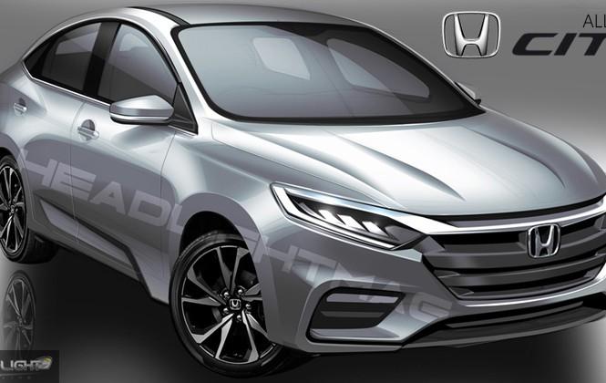 Honda City 2020 sắp ra mắt có ngoại hình lột xác thế nào