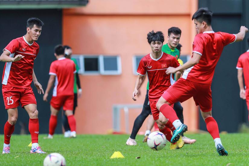 Đội hình ra sân của tuyển Việt Nam ở trận gặp Indonesia