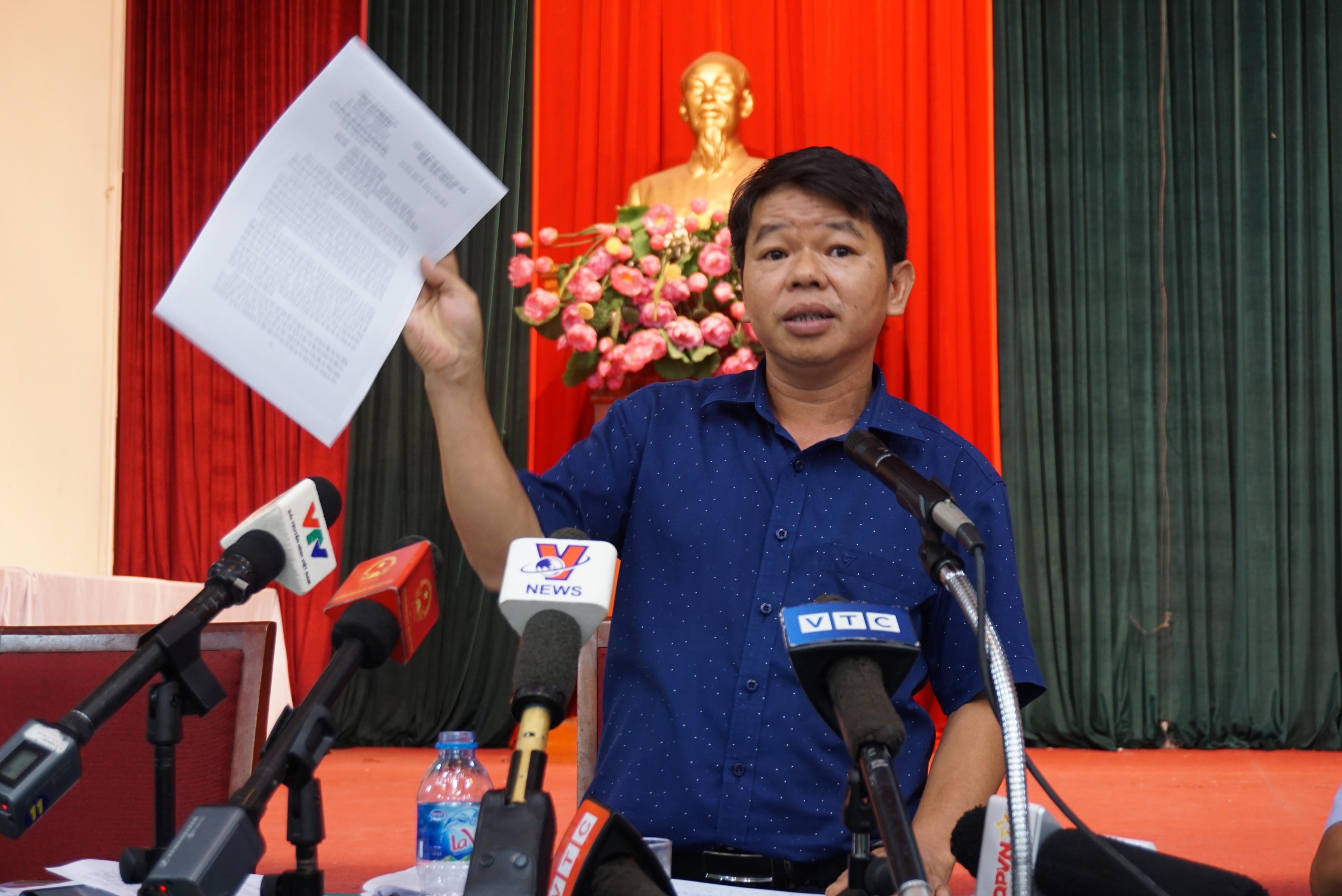 Tổng Giám đốc nước sạch sông Đà 'tiết lộ' lý do chậm báo cáo nước nhiễm dầu