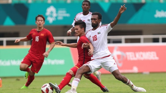 Việt Nam sẽ so tài với UAE trên sân Mỹ Đình vào tháng 11 tới
