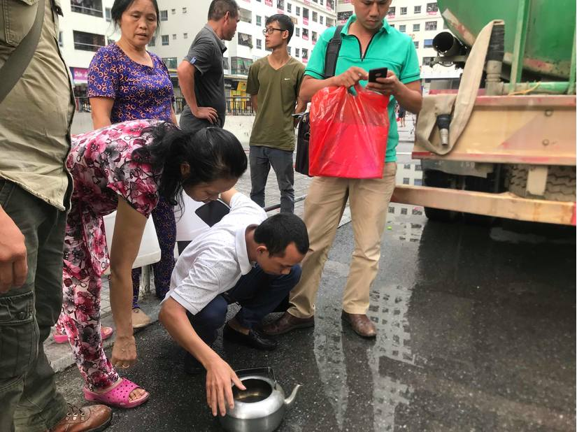 Hà Nội công khai kết quả xét nghiệm nước hàng ngày cho người dân