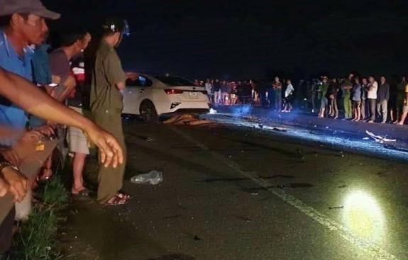 Tài xế ô tô tông kinh hoàng xe máy khiến cả gia đình tử vong ra trình diện