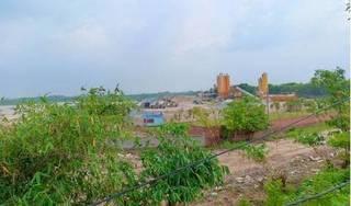 Tiên Du - Bắc Ninh: Trạm trộn bê tông không phép 'mọc như nấm sau mưa'