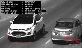 Chủ ô tô sốc vì ô tô đang ở Hà Nội nhưng bị bắn tốc độ tại Hà Tĩnh