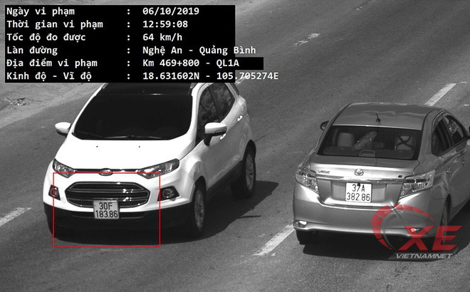 Chủ ô tô tố xe đỗ tại Hà Nội nhưng bị bắn tốc độ ở Hà Tĩnh
