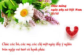 Ngày Phụ nữ Việt Nam 20/10: Những lời chúc và món quà ý nghĩa nhất