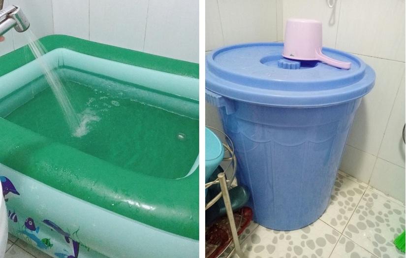 Thiếu nước sạch, người dân Hà Nội khốn đốn lo nước ăn uống từng bữa2