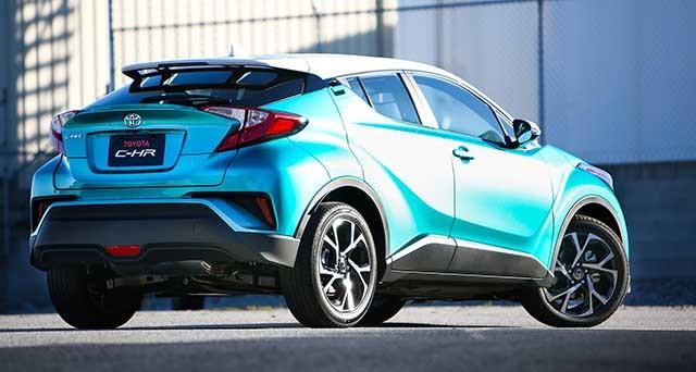 Toyota C-HR 2020 giá hơn 500 triệu đồng có điều gì đặc biệt
