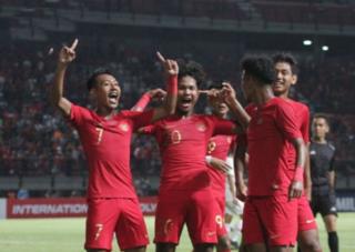 U19 Trung Quốc bất ngờ thua đậm U19 Indonesia