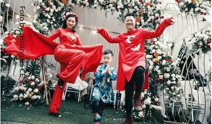 Sau khi ăn hỏi, Lưu Đê Ly nhắn nhủ chồng: Giàu - khó vẫn bên nhau