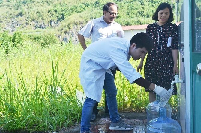 Mới nhất: các mẫu nước tại nhà các hộ dân và nhà máy nước Sông Đà đều đạt quy chuẩn về styren