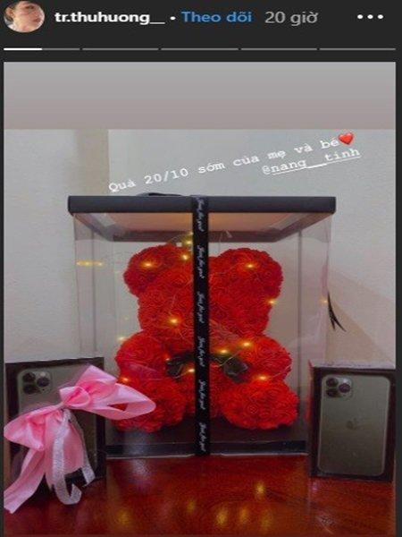 Cô dâu từng nhận hồi môn 200 cây vàng ở Nam Định khoe quà 20/10 hoành tráng