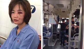 Xác định được 4 thanh niên xăm trổ đánh nữ nhân viên xe buýt nhập viện