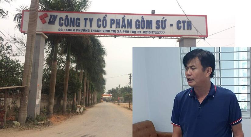 Vụ đổ trộm dầu vào nguồn nước sông Đà: Triệu tập con gái chủ Công ty Cổ phần Gốm sứ Thanh Hà