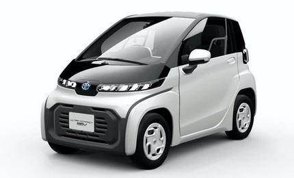 Toyota gây 'sốt' khi ra mắt ôtô điện hai chỗ ngồi siêu tiện lợi