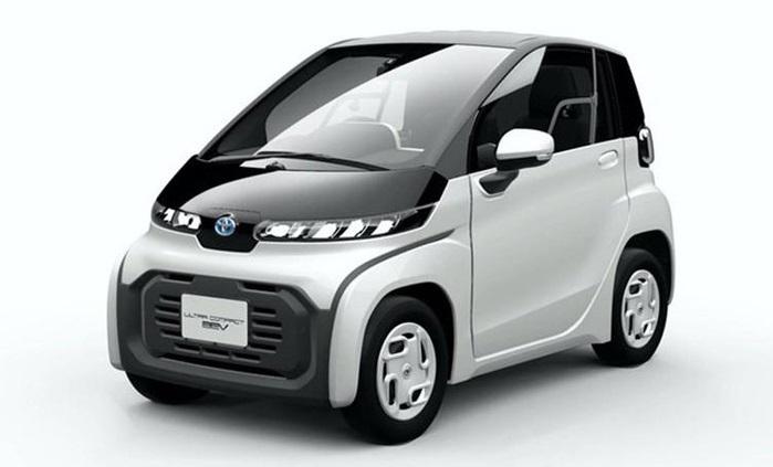 Toyota gây sốt khi ra mắt ôtô điện hai chỗ ngồi siêu tiện lợi