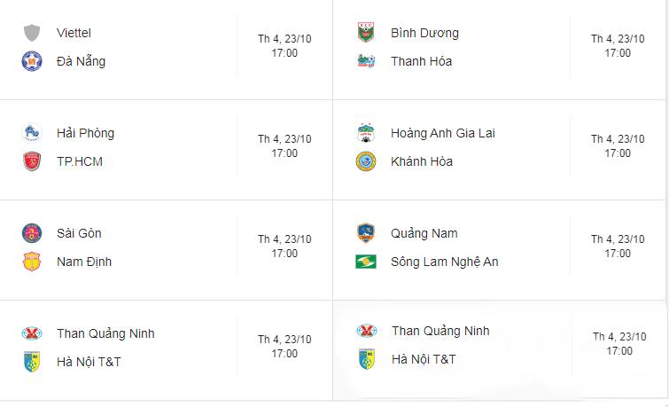 Lịch thi đấu vòng 26 V.League: HAGL, Nam Định gặp khó