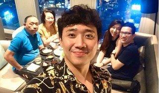 Trấn Thành nói gì chuyện Hari Won vắng mặt trong tiệc sinh nhật mẹ chồng?