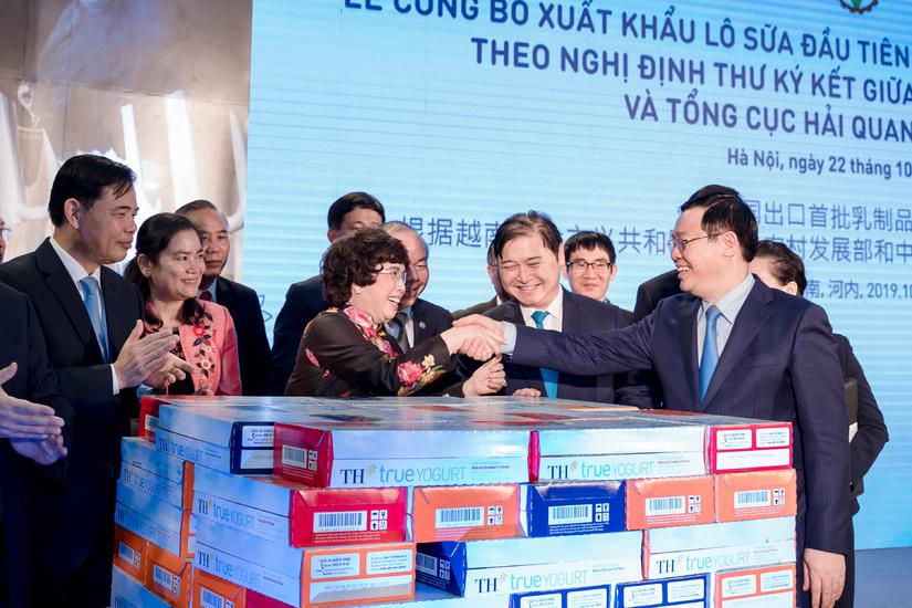 TH trở thành doanh nghiệp đầu tiên xuất khẩu sữa tươi chính ngạch đầu tiên vào Trung Quốc