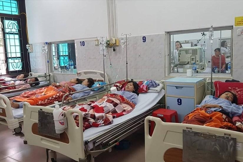 Sở Y tế Nam Định xác định nguyên nhân hàng trăm công nhân nhập viện