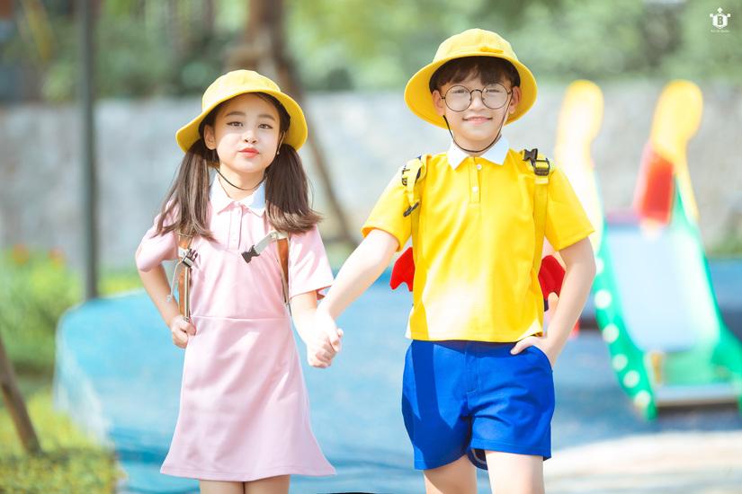 Cặp mẫu nhí nổi tiếng Hà Thành đáng yêu trong bộ ảnh Nobita và XuKa2
