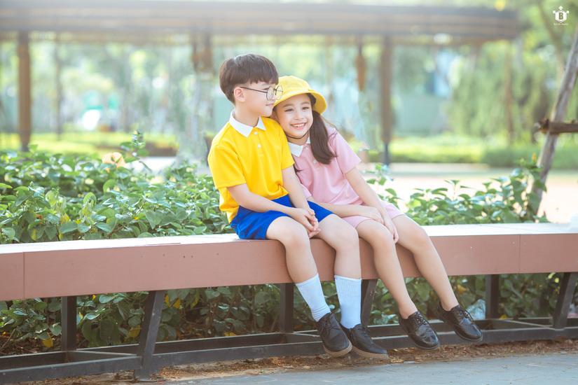 Cặp mẫu nhí nổi tiếng Hà Thành đáng yêu trong bộ ảnh Nobita và XuKa4