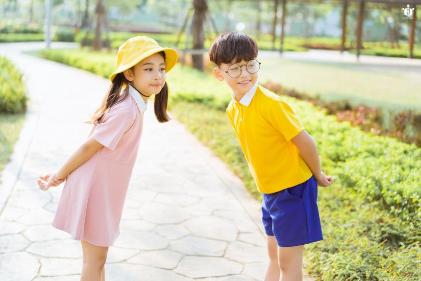 Cặp mẫu nhí nổi tiếng Hà Thành đáng yêu trong bộ ảnh Nobita và XuKa10