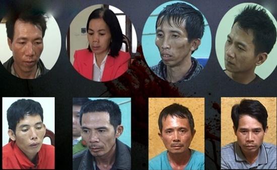 Sáu tội danh man rợ của 9 đối tượng trong vụ án sát hại nữ sinh giao gà Điện Biên