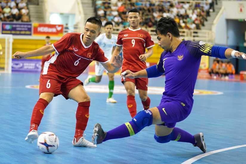 Việt Nam đại chiến Thái Lan ở bán kết Futsal Đông Nam Á 2019