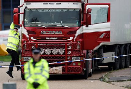 Hé lộ nguyên nhân khiến 39 người chết trong container ở Anh