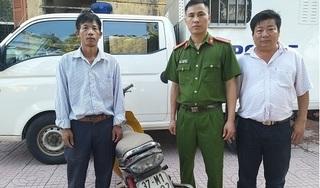 Người đàn ông Nghệ An bất ngờ nhận được xe máy mất cắp đã 5 năm