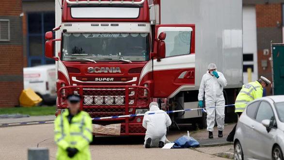 Vụ 39 thi thể trong container ở Anh: cảnh sát bắt thêm 3 nghi phạm
