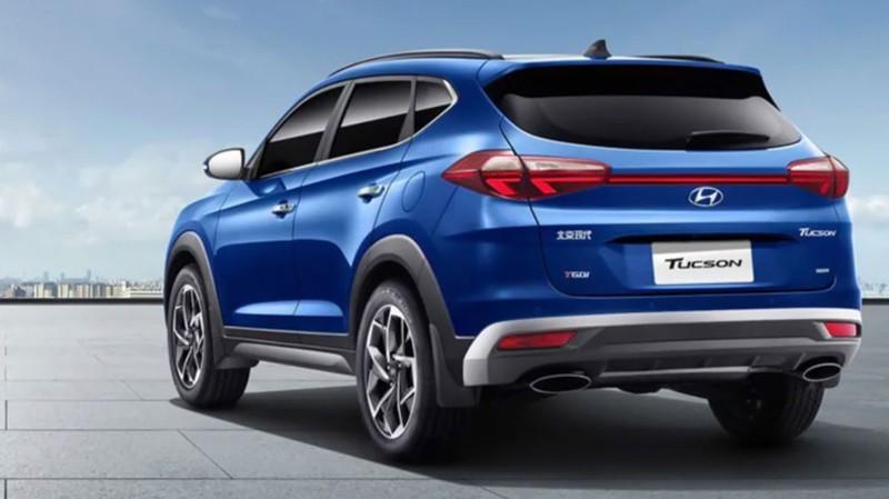 Lộ diện Hyundai Tucson 2020 với kiểu dáng khác biệt