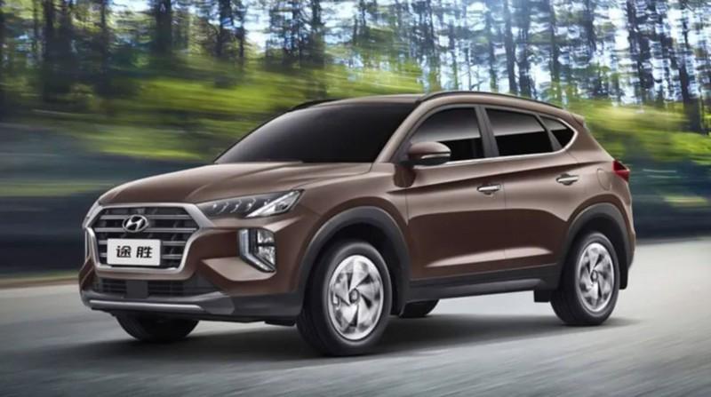 Lộ diện Hyundai Tucson 2020 với kiểu dáng khác biệt2