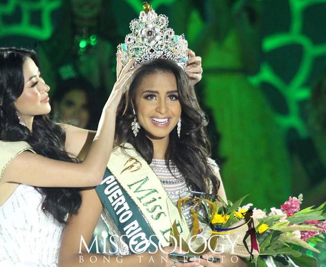 Người đẹp Puerto Rico đăng quang Hoa hậu trái đất 2019, Hoàng Hạnh trắng tay