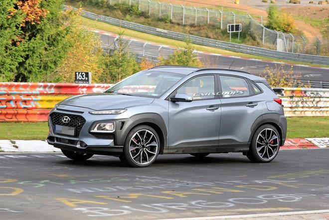 Hyundai Kona N 2020 chạy thử, với ngoại hình đẹp long lanh2