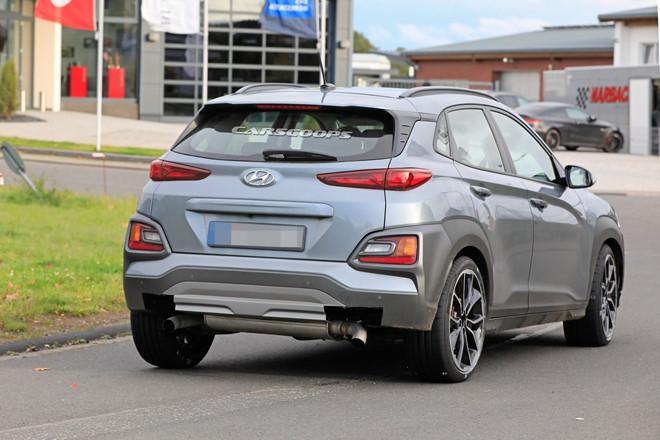 Hyundai Kona N 2020 chạy thử, với ngoại hình đẹp long lanh3