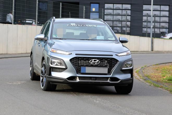 Hyundai Kona N 2020 chạy thử, với ngoại hình đẹp long lanh