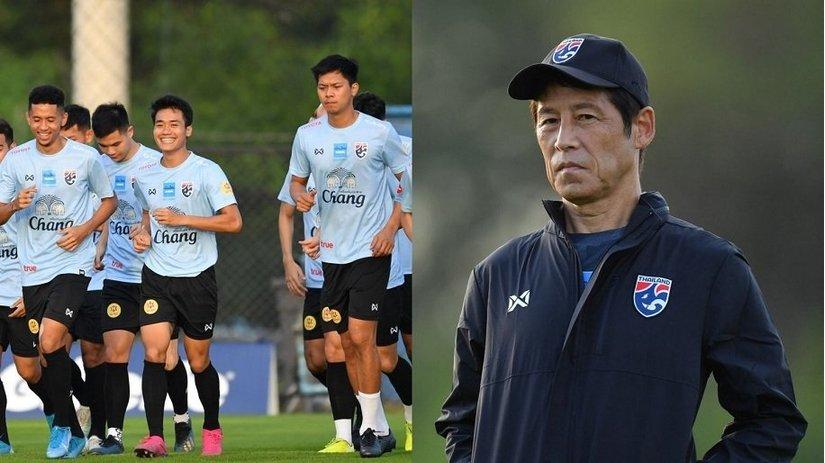 HLV Nishino chốt danh sách U22 Thái Lan dự SEA Games