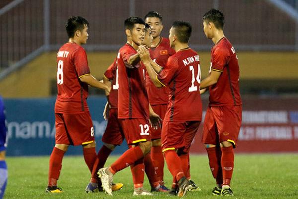 U21 Việt Nam so tài đội bóng mạnh tới từ châu Âu Nhật Bản Hàn Quốc ở giải U21 quốc tế