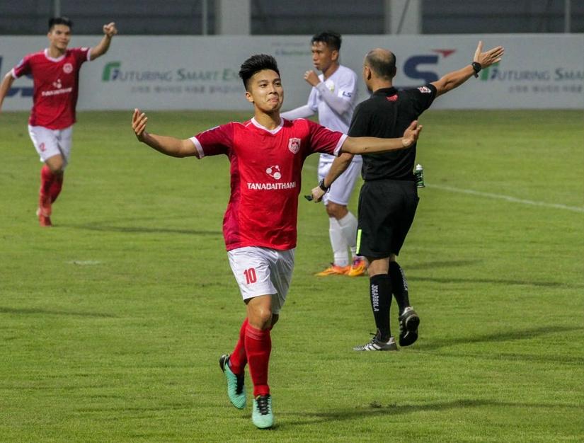 Phố Hiến FC sẽ thi đấu trận đấu Play off với Thanh Hóa tranh suất dự V.League 2019 vào chiều nay
