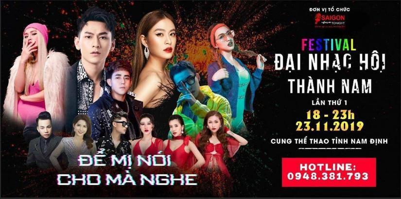 Hoàng Thùy Linh, Isacc tham dự Đại nhạc hội Thành Nam