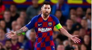 Messi tỏa sáng, CLB Barca trở lại ngôi đầu La Liga