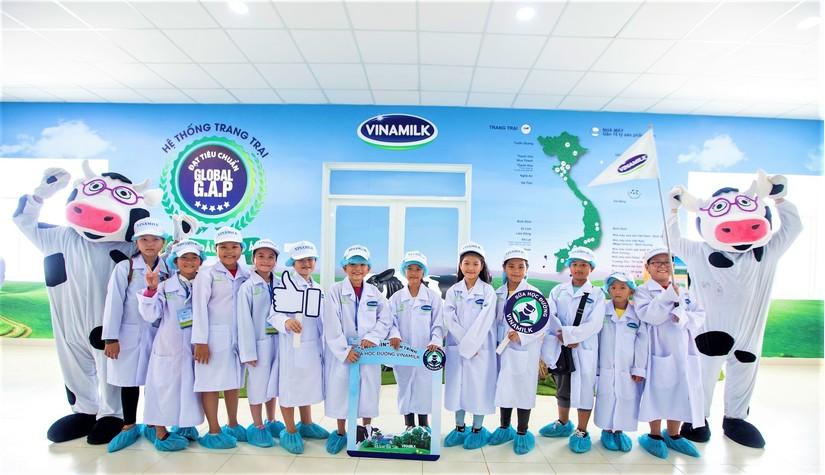 Tỉnh Vĩnh Long và Vinamilk cùng triển khai chương trình sữa học đường