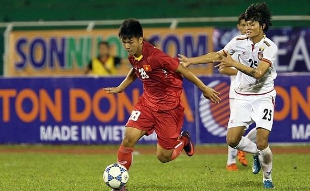 U21 tuyển chọn Việt Nam thắng đậm U21 Hanyang